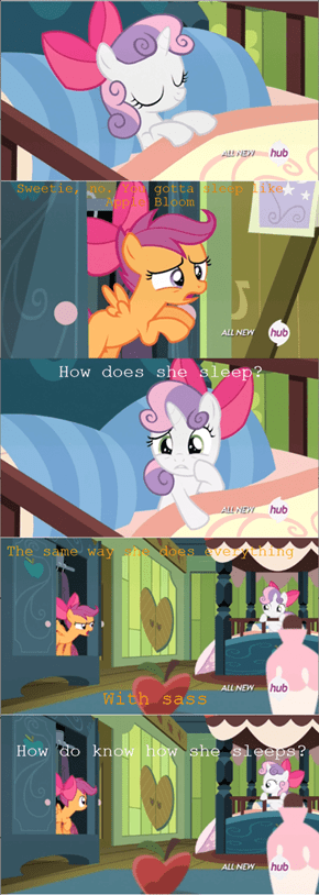 Applejack's not the only overly attached pony