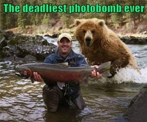 The deadliest photobomb ever