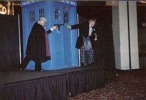 Doctor Who Water Pistol Fight