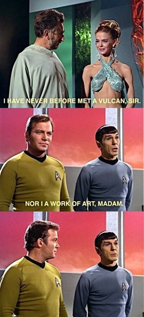 Damn, Spock's Got Game