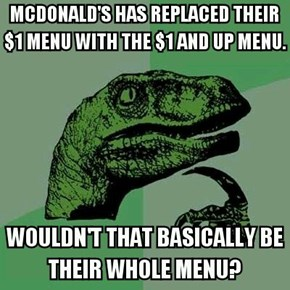 Are You Trying to Ruse Us, McDonald's?