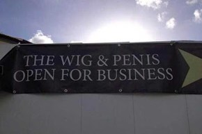 """The Wig & Pen Is Open for Business"""