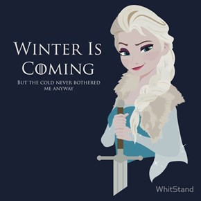 Elsa Stark Is Queen in The North