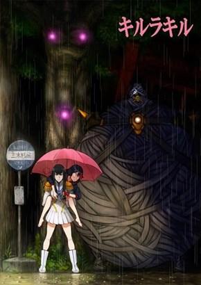 Kill La Kill Meets Totoro