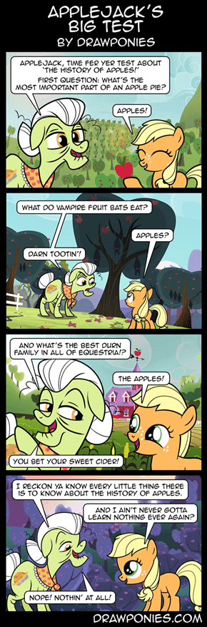 Applejack's Big Test