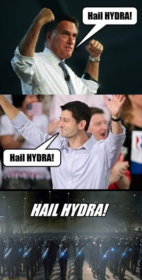 #RomneyRyan #HailHYDRA