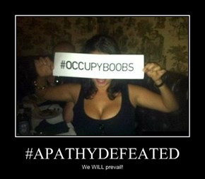 #APATHYDEFEATED