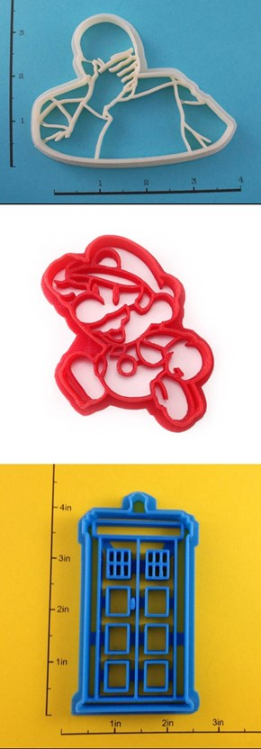 The Nerdiest of Cookie Cutters