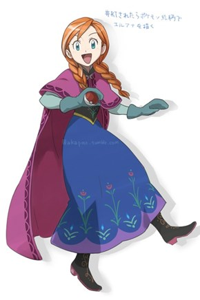 Anna would like to battle