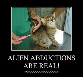 ALIEN ABDUCTIONS ARE REAL!
