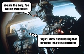 We are the Borg.