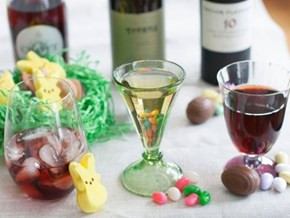 Pairing Booze and Easter Candy