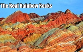 Why have just Rainbow rocks when you could have rainbow mountains