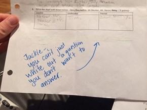 Nice Try, Jackie
