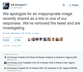 Somebody at US Airways Has a Lot of Explaining to Do