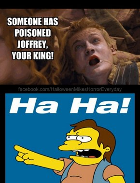 King Joffrey is DEAD