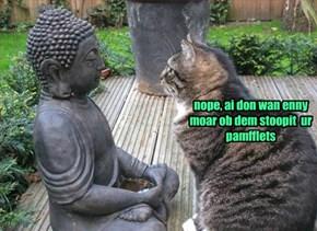 No moar pamfflets...