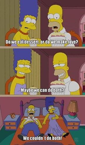 Take It From Marge and Homer