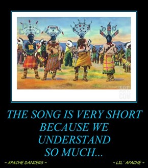 THE SONG IS VERY SHORT BECAUSE WE UNDERSTAND  SO MUCH...