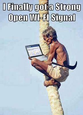 I Finally got a Strong Open WI-FI Signal