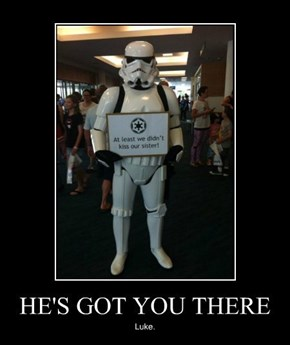 Stormtroopers May Be Terrible Shots, But They Make Good Arguments