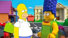 One Night Only: The Simpsons Become LEGO Bricks