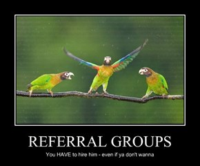REFERRAL GROUPS