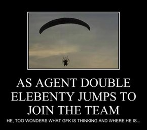 AS AGENT DOUBLE ELEBENTY JUMPS TO JOIN THE TEAM