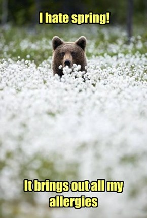 I can bearly smell a thing...