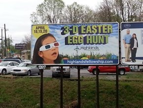 Don't Send Your Kids on a Boring 2-D Egg Hunt