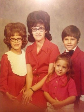 The Family That Has Terrible Hairdos Together Stays Together