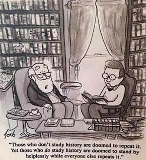 The Crappy Thing About History