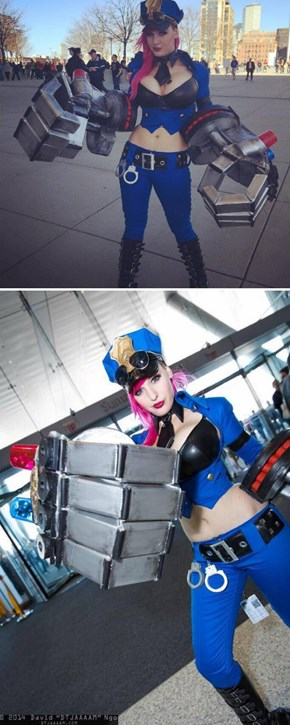 An Arresting League of Legends Cosplay