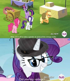 Rarity the Hipster