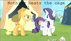 The Lutece twins in My Little Pony