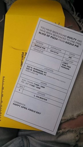 The One Parking Ticket You WISH You Could Get