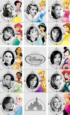 Disney Voice Actresses are the Real Princesses