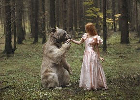 Russian Photographer Katerina Plotnikova Takes Stunning Photos With Real Animals