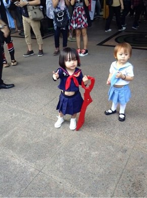 The Cutest Kill la Kill Cosplay