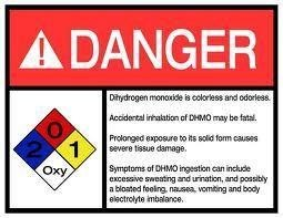 dihydrogen monoxide, We Will Need Money To Fix This!