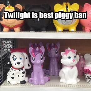 Twilight is best piggy bank