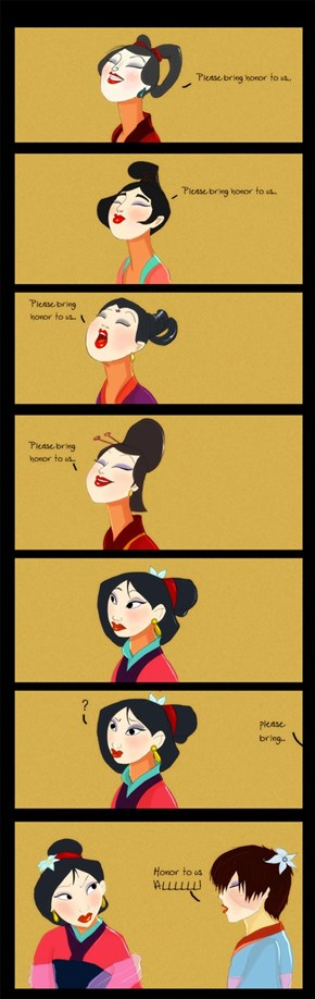 Mulan's Got Some to Spare, Right?