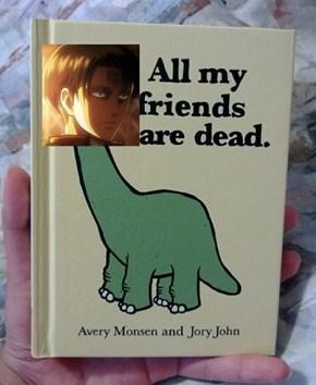 Levi Wrote a Book