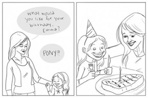 A Little Girl's Birthday