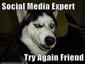 Social Media Expert  Try Again Friend