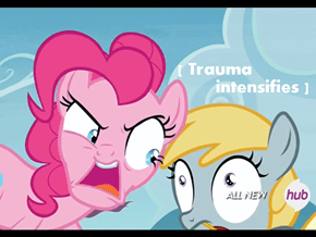 Pinkie Pie would be a horrible mother