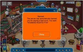 The Funniest Club Penguin Ban