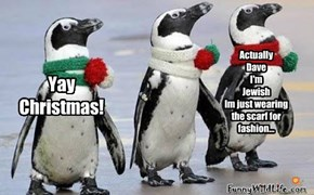 Even Penguins Love Christmas!