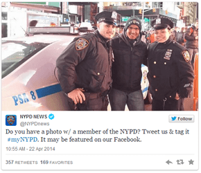 The NYPD Found Out the Hard Way How Not to Make a Twitter Hashtag