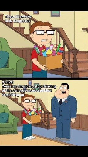 American Dad Gets It